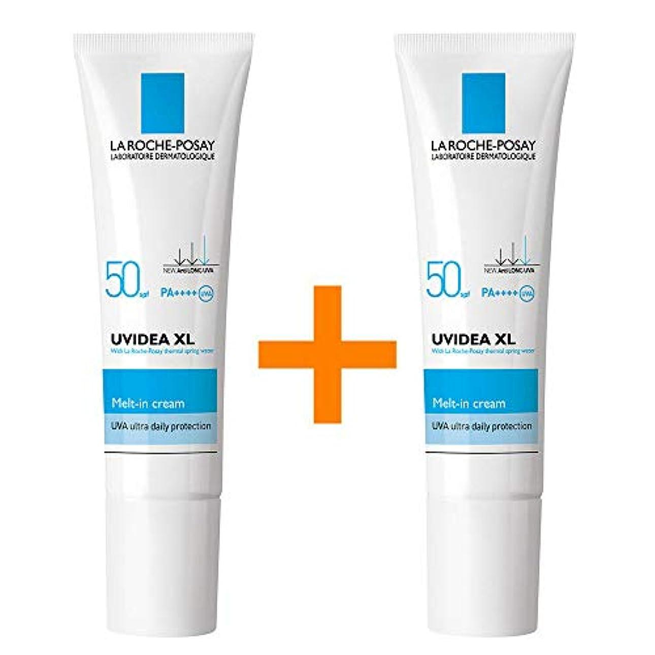 懺悔アテンダント熱[1+1] La Roche-Posay ラロッシュポゼ UVイデア XL Melt-In クリーム Uvidea XL Melt-In Cream - Natural (30ml) SPF50+ PA++++