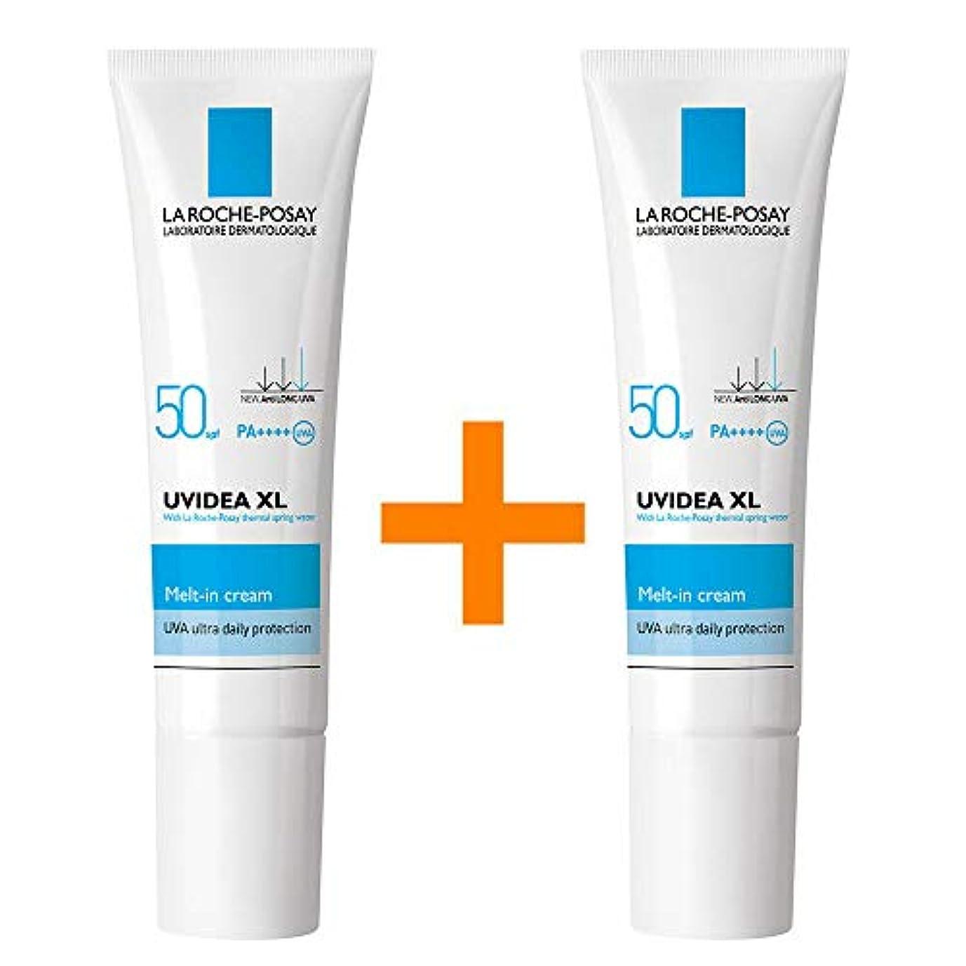 汚物バスケットボール熱[1+1] La Roche-Posay ラロッシュポゼ UVイデア XL Melt-In クリーム Uvidea XL Melt-In Cream - Natural (30ml) SPF50+ PA++++