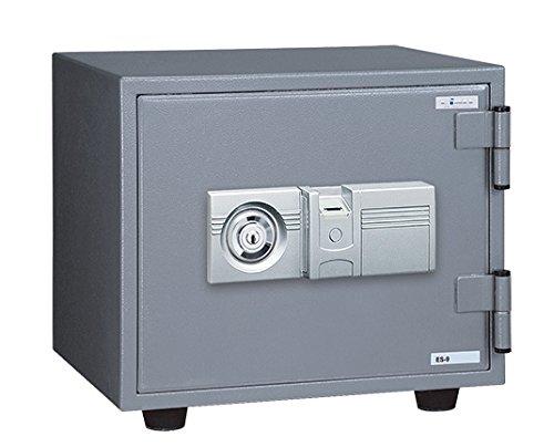 小型指紋認証式耐火金庫【数量限定】 ES-9FN