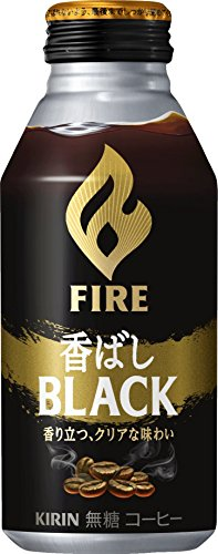 キリン ファイア 香ばしブラック 400gボトル缶×24本