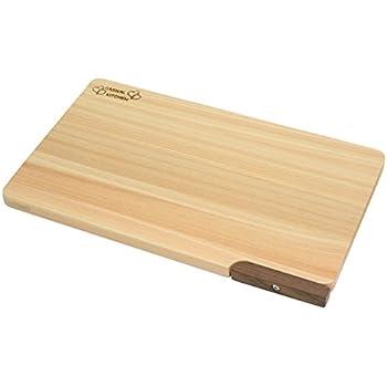 ダイワ産業 まな板 木製 ひのき 食洗機対応 軽量 【スタンド付き】 30cm