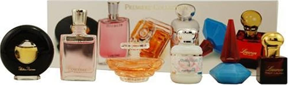 禁止する麻痺させるカールランコム LANCOME Premiere Collection プリミエール コレクション ミニ 香水 6本 セット 並行輸入品