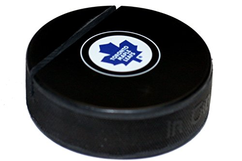 Toronto Maple Leafs Old Logo Hockey Puckビジネスカードホルダー