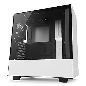 NZXT H500 ネイキッドモデル [ White & Black ] CA-H500B-W1