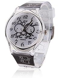 Damara 子供用 腕時計 漫画風 かわいい 子供の日 アナログ表示