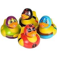 Rhode Island Novelty - Rubber Ducks - WRESTLER DUCKIES (Set of 4 Styles) [並行輸入品]