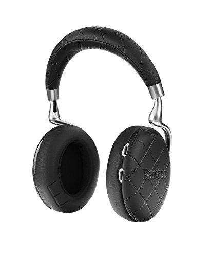 Parrot Zik 3 密閉型 ワイヤレスヘッドホン ノイズキャンセリング Bluetooth NFC Qiワイヤレス充電 Apple Watch対応 Black Overstitched PF562031 国内正規品