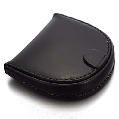 (ビスポーク) BESPOKE KEC002 コードバン 馬蹄型 コインケース 小銭入れ 財布 国産 日本製 [本革] (ブラック)
