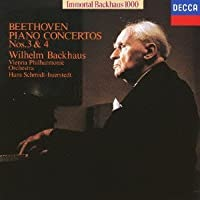 Beethoven: Piano Concertos 3 & 4 by Wilhelm Bachhaus (2015-11-04)