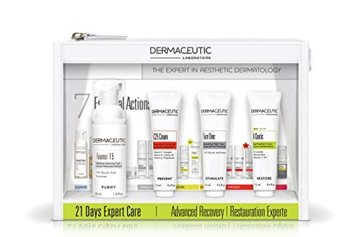 引数に対して深さダーマシューティック 21デイエキスパートケアキット?エイジディフェンス[ヤマト便] (Dermaceutic) 21 Days Expert Care Kit Age Defense
