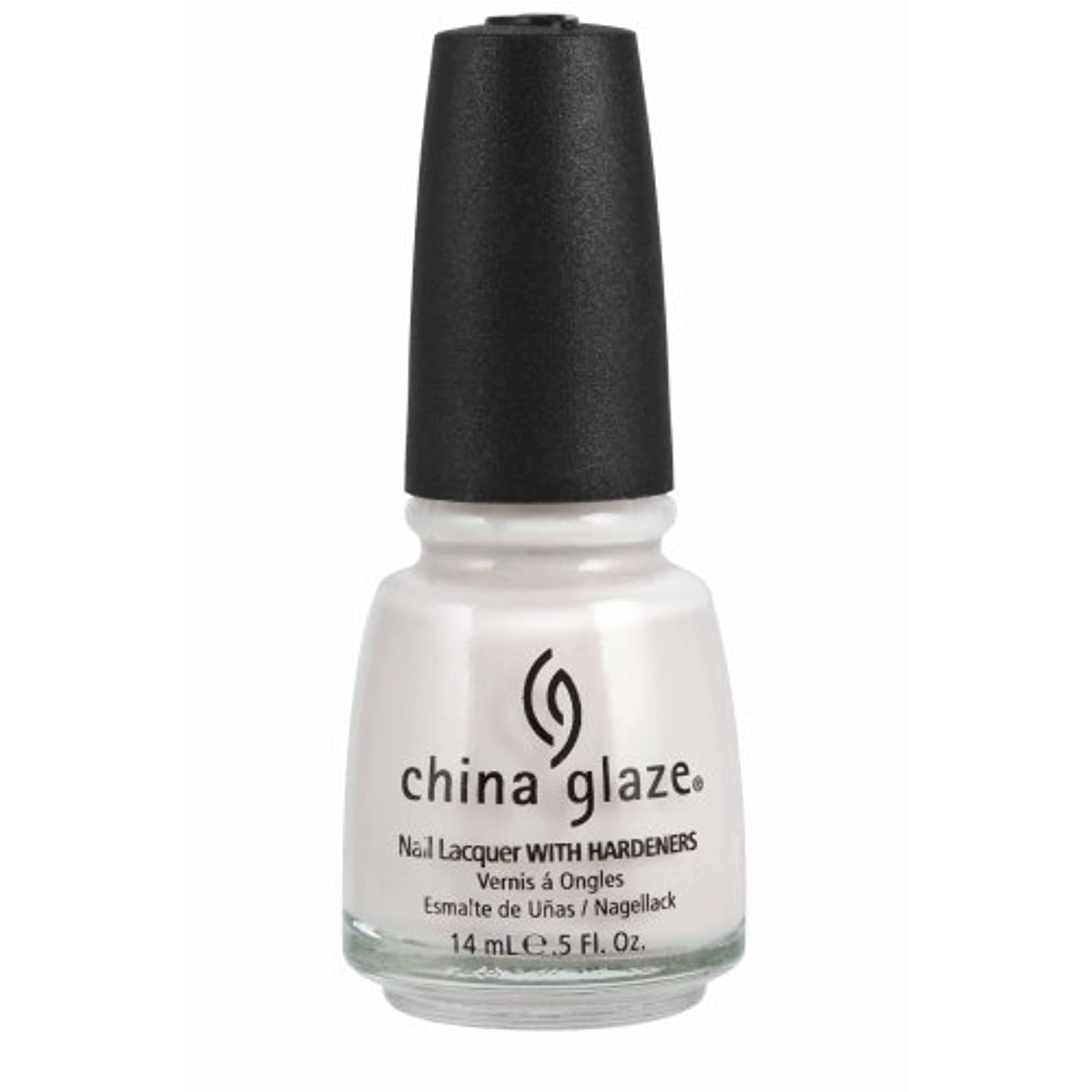ガム愛撫納得させるCHINA GLAZE Nail Lacquer with Nail Hardner - Oxygen (並行輸入品)