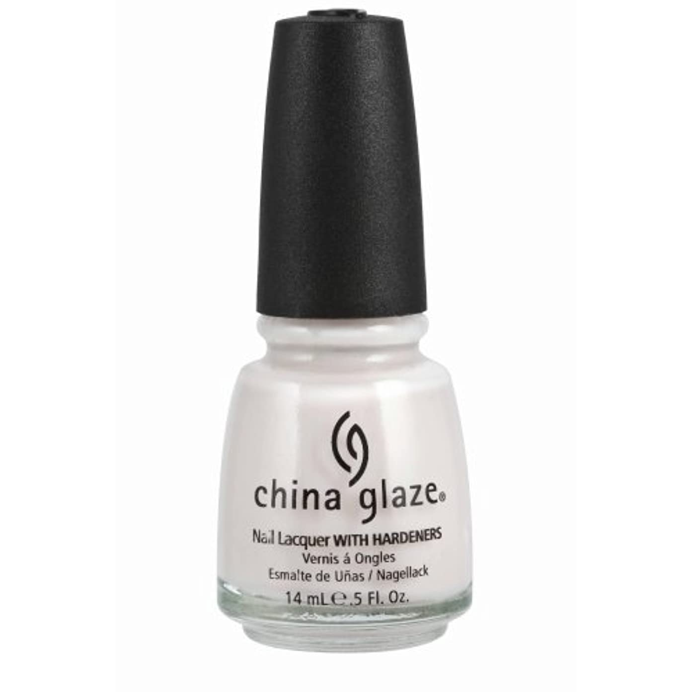 推定始める成熟CHINA GLAZE Nail Lacquer with Nail Hardner - Oxygen (並行輸入品)