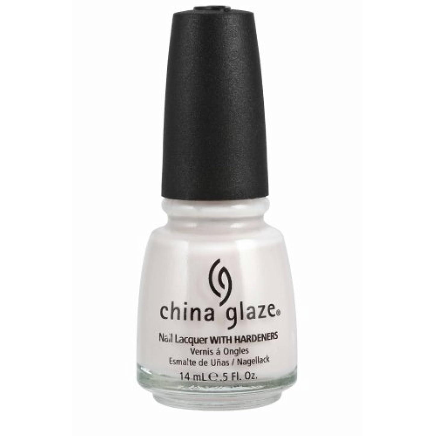 トランスミッション特に真似るCHINA GLAZE Nail Lacquer with Nail Hardner - Oxygen (並行輸入品)