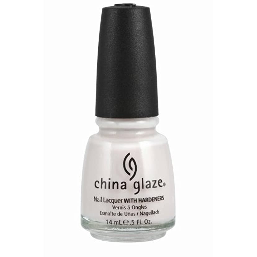 覆すギャップイブニングCHINA GLAZE Nail Lacquer with Nail Hardner - Oxygen (並行輸入品)