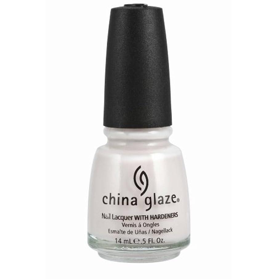 災難夜宗教CHINA GLAZE Nail Lacquer with Nail Hardner - Oxygen (並行輸入品)