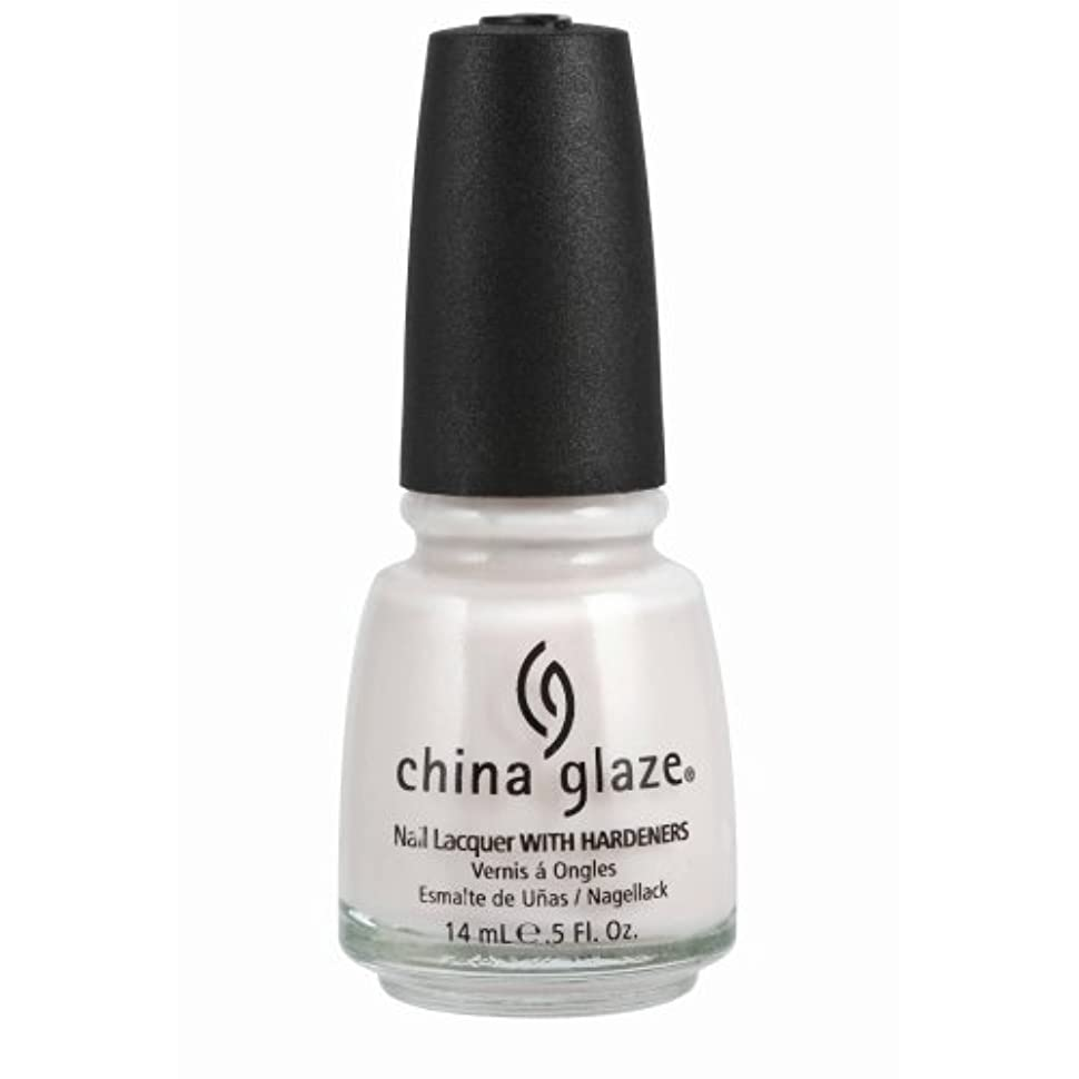 なかなか製油所ボスCHINA GLAZE Nail Lacquer with Nail Hardner - Oxygen (並行輸入品)