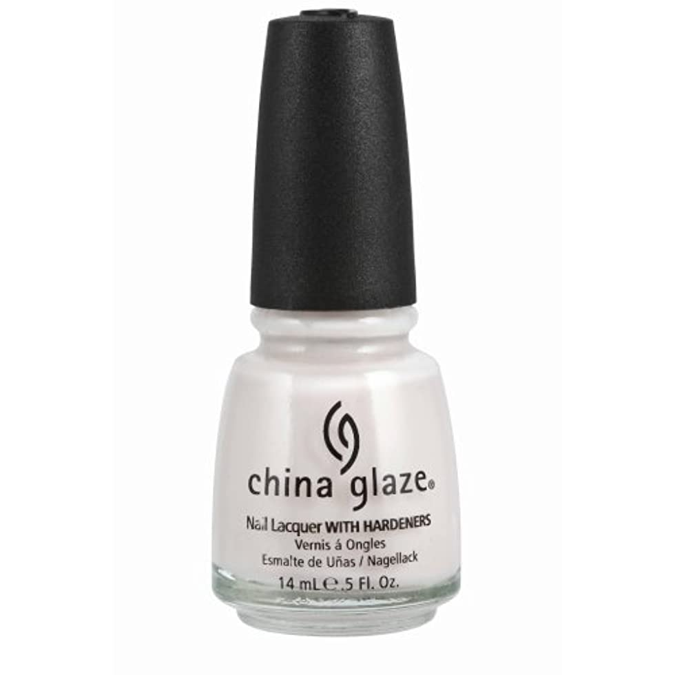 送金自伝苦味CHINA GLAZE Nail Lacquer with Nail Hardner - Oxygen (並行輸入品)