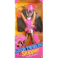 Barbie - Baton Twirling SKIPPER AA Doll Teen Sister of Barbie! (1992) [並行輸入品]