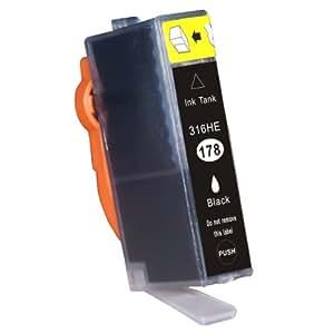 【ICチップ付き 色も選べる】HP(ヒューレット・パッカード)リサイクルインク hp178XL系 単色 ICチップ付き 増量タイプ (CB321H(ブラック増量))