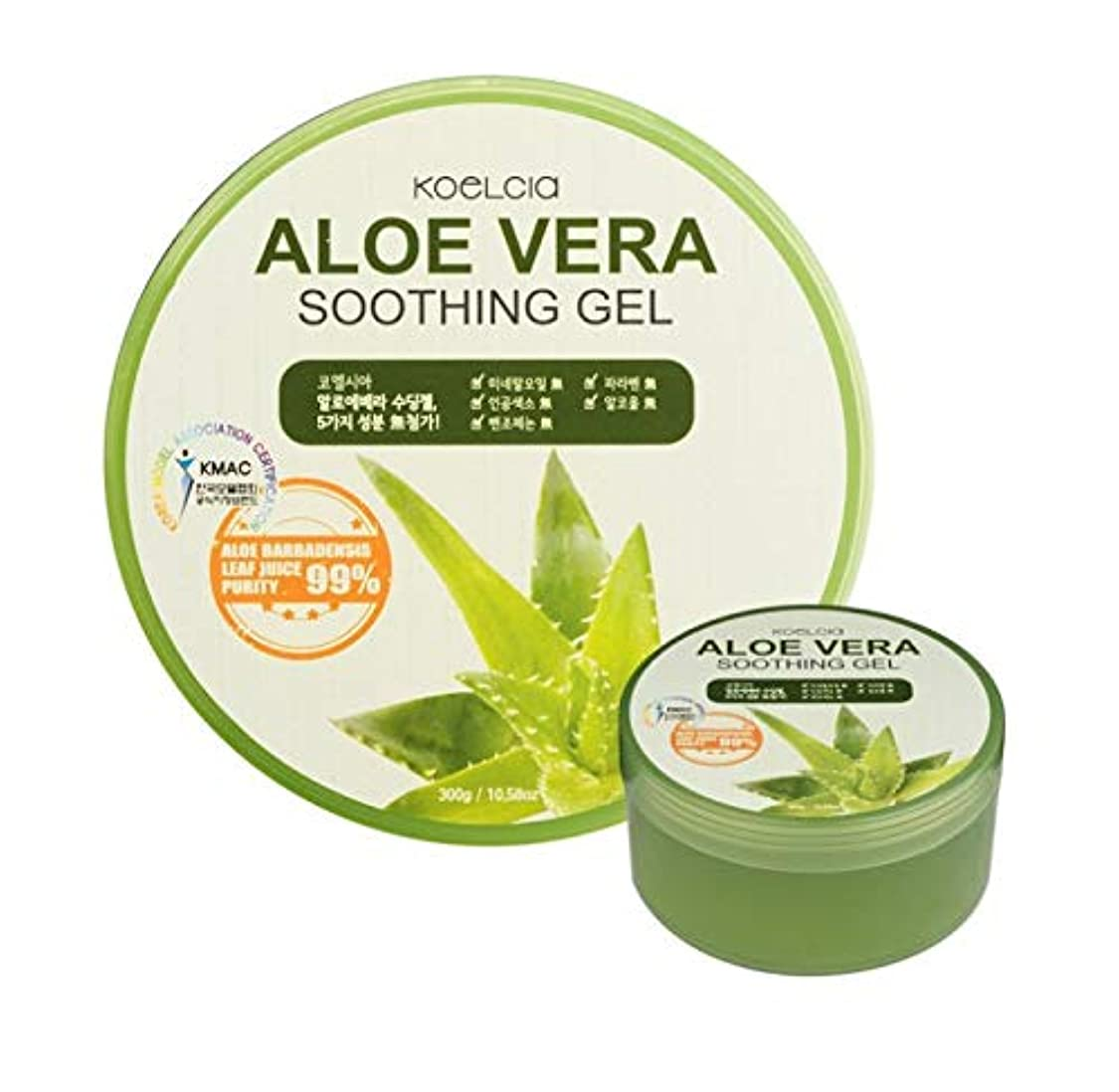 任命完了形成Koelcia Aloe Vera Moisture Soothing Gel 300ml [並行輸入品]