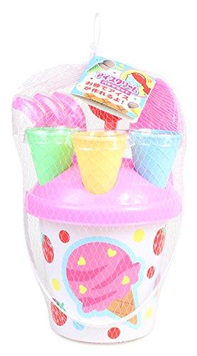 砂遊びセット アイスクリームバケツセット
