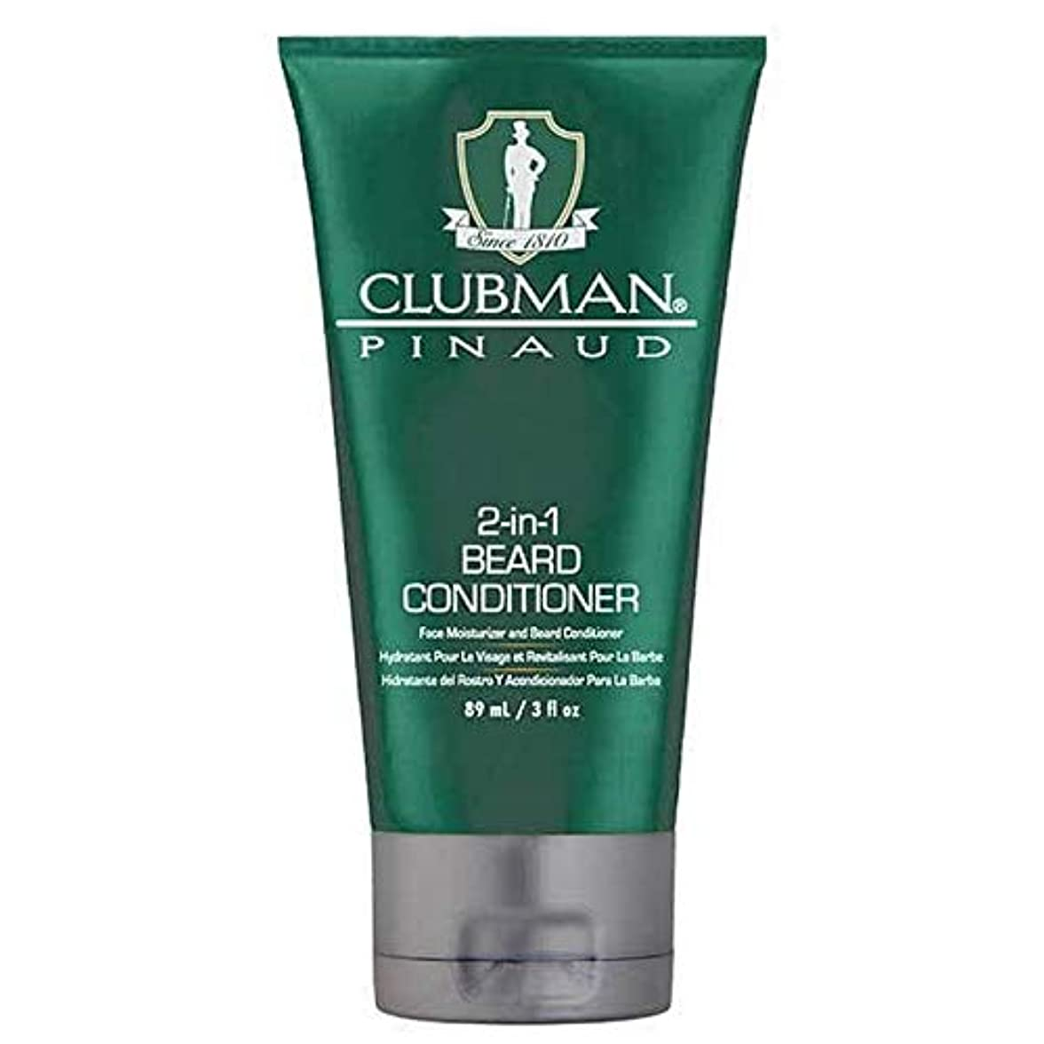 ねじれ低下不名誉な[Clubman ] クラブマン2-In-1髭コンディショナー89ミリリットル - Clubman 2-in-1 Beard Conditioner 89ml [並行輸入品]