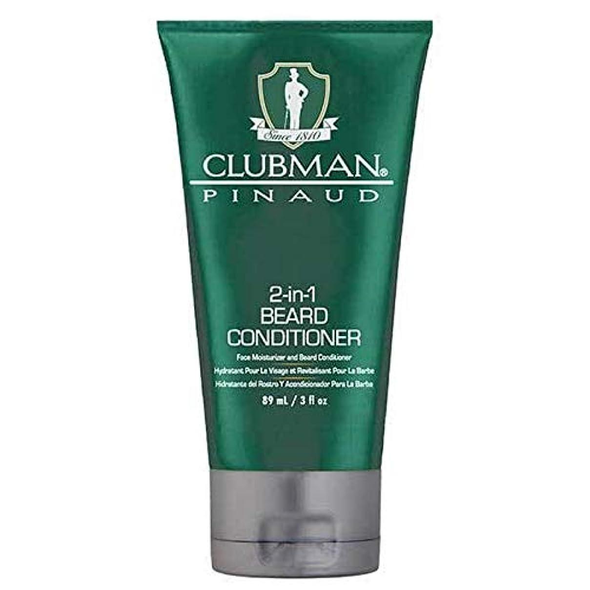 [Clubman ] クラブマン2-In-1髭コンディショナー89ミリリットル - Clubman 2-in-1 Beard Conditioner 89ml [並行輸入品]