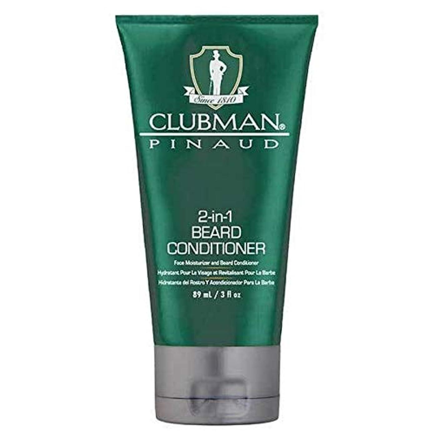 引き潮効果的にバルーン[Clubman ] クラブマン2-In-1髭コンディショナー89ミリリットル - Clubman 2-in-1 Beard Conditioner 89ml [並行輸入品]