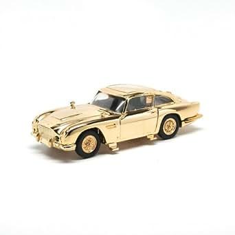 アストン・マーチン DB5 007/ゴールドフィンガー ゴールドプレーテッド (1/36 CC04307)