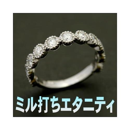 エタニティリング ダイヤモンド リング 0.8ct VSクラス G-H イエローゴールド,07号