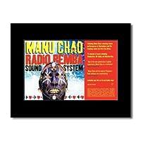 MANU CHAO - Radio Remba Sound System Matted Mini Poster - 21x13.5cm