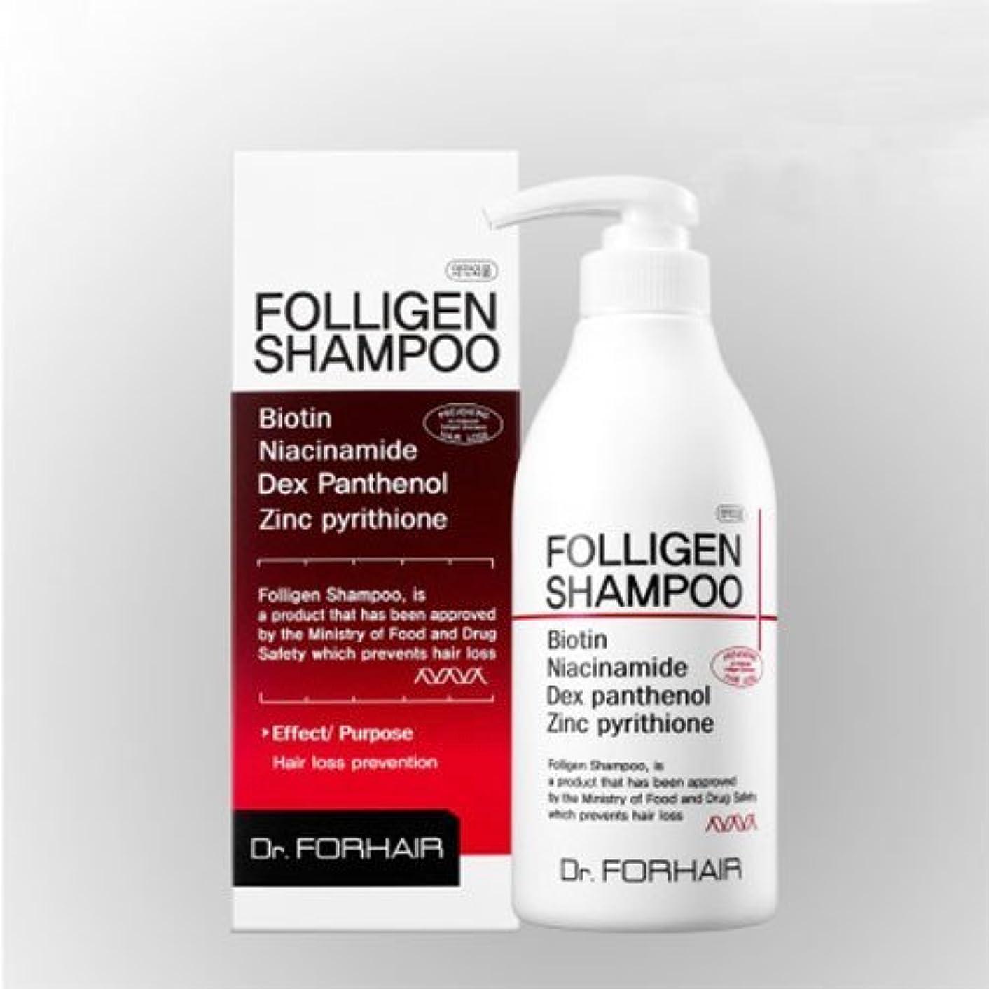 フロー寄り添うバットダクト?フォーヘア ポルリジェン シャンプー500ml 脱毛防止シャンプー[並行輸入品] / Dr. Forhair Folligen Shampoo 500ml (16.9 fl.oz.) for Hair Loss...