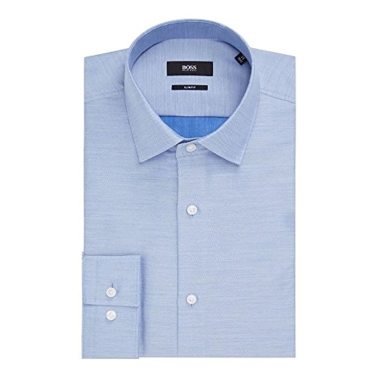 スマート以前はインカ帝国(ヒューゴ ボス) Hugo Boss メンズ トップス シャツ Ismo Slim Fit Washed Sheen Shirt [並行輸入品]