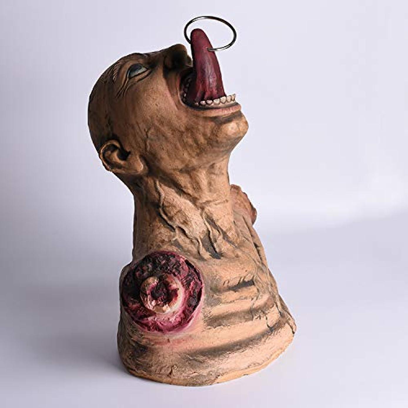 情緒的に向かって通知ETRRUU HOME ハロウィーンお化けハウスルームエスケープ怖い小道具恐怖壊れた手ぶら下げ幽霊死体全身ゾンビ装飾