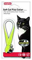 Beaphar Cat Flea Reflective Collar, Pack of 2, Yellow