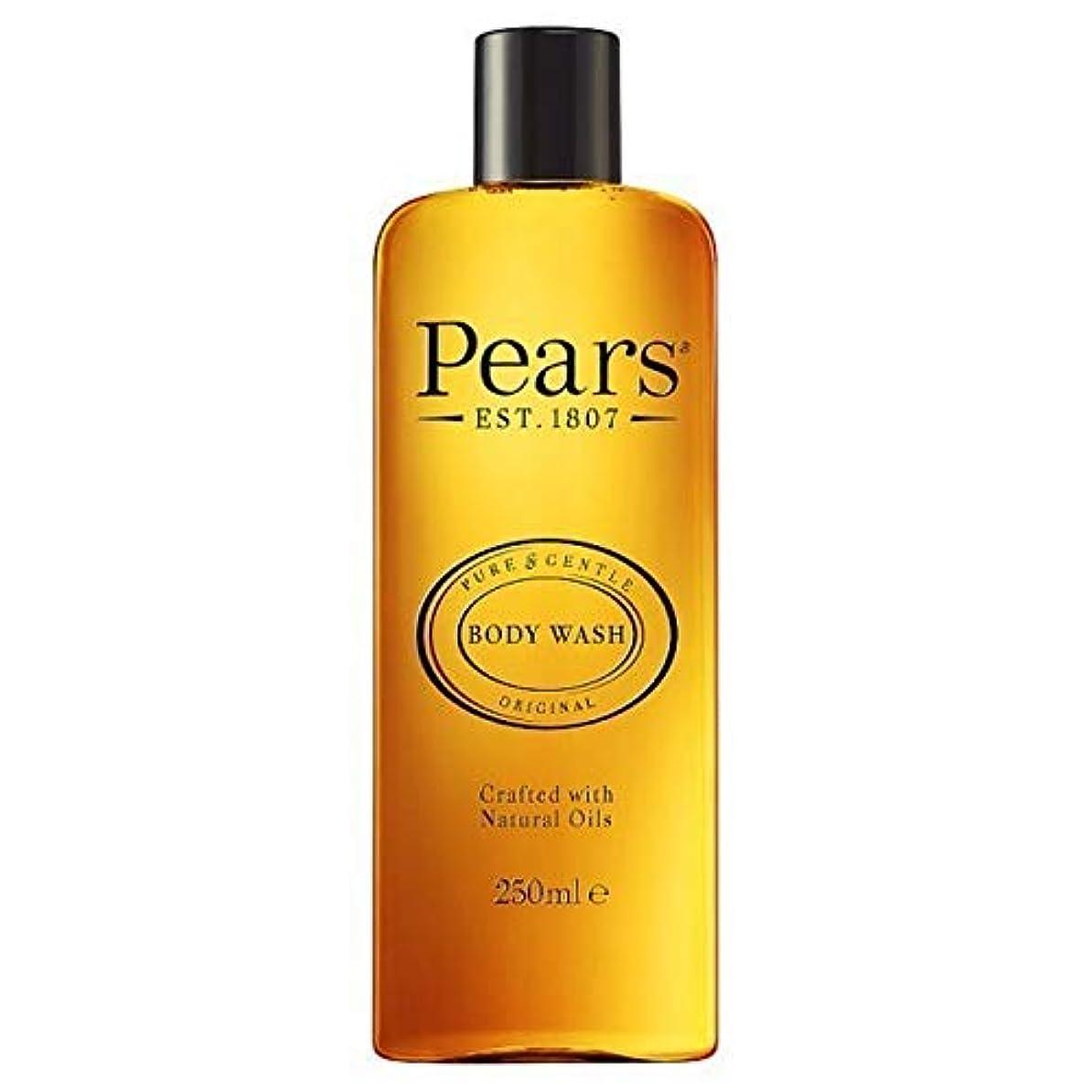 真夜中低下ドア[Pears ] 梨シャワージェル250ミリリットル - Pears Shower Gel 250ml [並行輸入品]