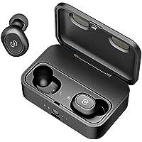 【Bluetooth進化&iPhone/Android適用】 完全 ワイヤレス イヤホン SoundPEATS(サウンドピーツ) Q32 改良版 Bluetooth イヤホン 高音質 低遅延 自動ペアリング ブルートゥース イヤホン20回 フル充電ケース付き Bluetooth 5.0 イヤホン 防水&防汗 左右分離型 片耳&両耳モード Siri対応 超軽量