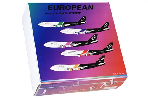 1:200 JC ウィングス 200 FL2016 ボーイング 747-200 ダイキャスト モデル ヨーロッパ Air Charter G-BDXJ【並行輸入品】