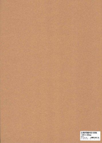 白画用紙 EAG4-100S 四ツ切 100枚入