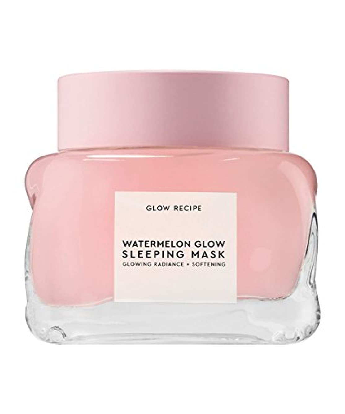 憤るマークされた不条理Glow Recipe Watermelon Glow Sleeping Mask 2.7oz/80ml グロウレシピ ウォータメロン グロー スリーピング マスク