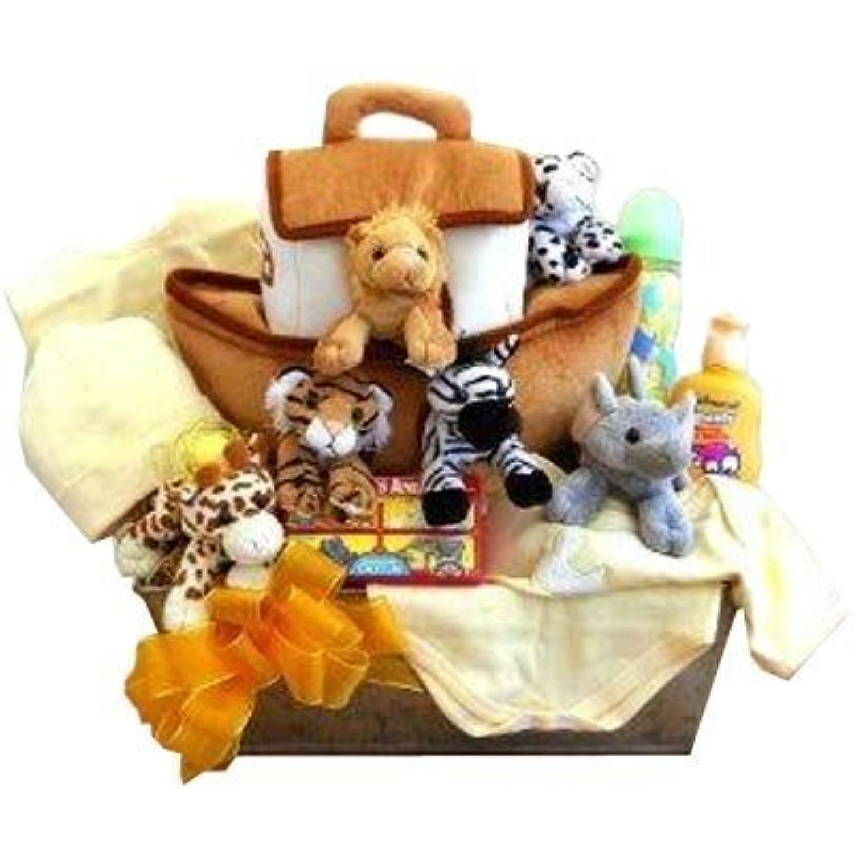 Noah's Ark Newborn Baby Gift Basket by Gift Basket [並行輸入品]