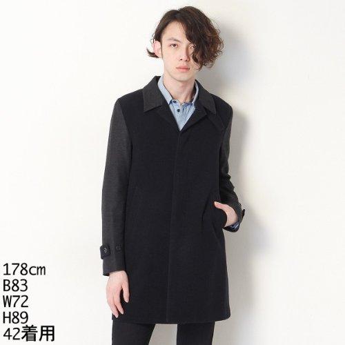 アンド エー メンズ(And A) ステンWOOLコート【55ネイビー/042(42)】