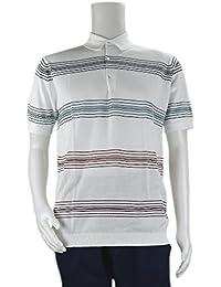 JOHN SMEDLEY ジョンスメドレー ポロシャツ 9041JORY WHITE/GRAPE/RUSSET R/メンズ/トップス/TOPS [並行輸入品]