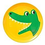 OMM-design Ingela インゲラ メラミンプレート (Crocodile/クロコダイル)