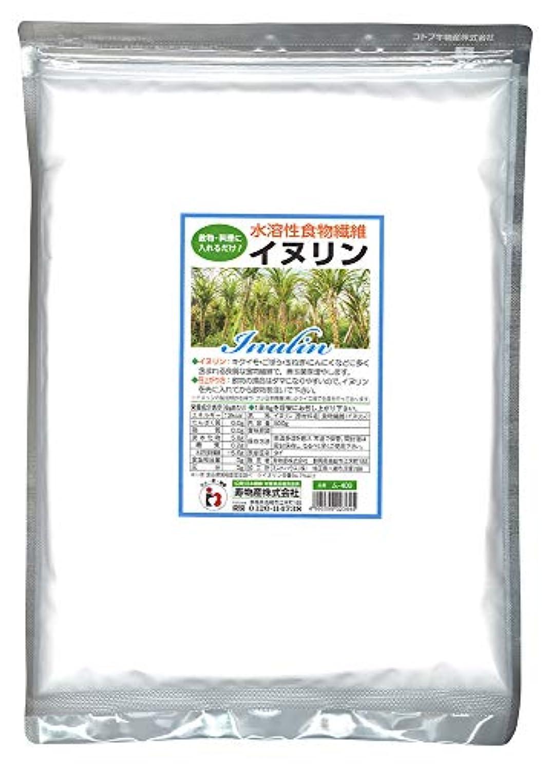 ダーツ名声前にイヌリン 500g 水溶性食物繊維 菊芋に多く含まれる食物繊維