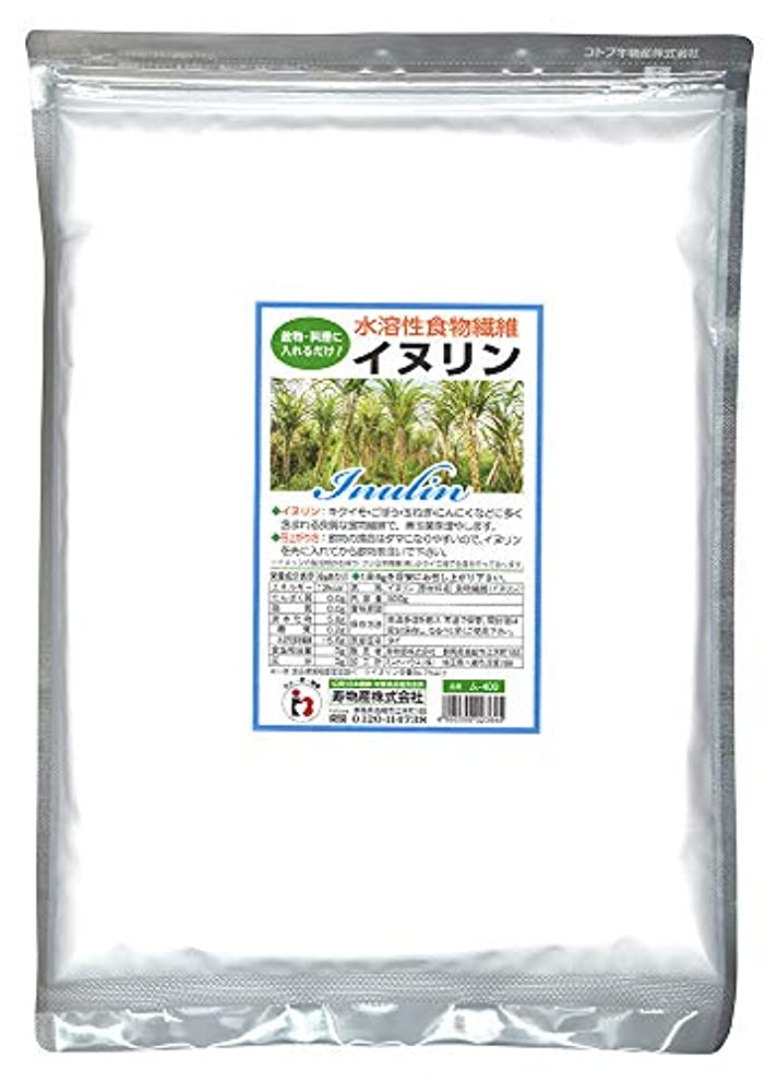 床ボイド昆虫を見るイヌリン 500g 水溶性食物繊維 菊芋に多く含まれる食物繊維