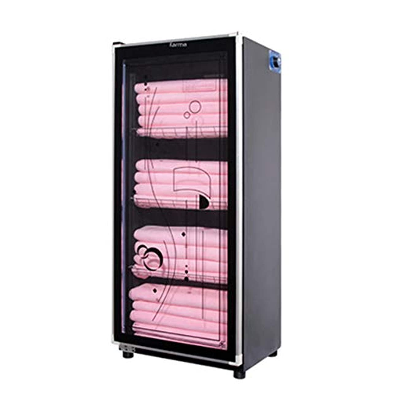 購入横たわるバーストプロフェッショナルタオルウォーマーキャビネット、UVオゾン滅菌器3 in 1、SPA用、ヘアビューティー、サロン、ホーム、タイミング消毒(158L / 188L)