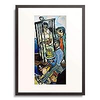 マックス・ベックマン 「Triptych: The Temptation (of St. Anthony). Right panel. 1936/37」 額装アート作品
