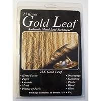 Mona Lisa 23k Genuine Gold Metal Leaf/25 Pk by Mona Lisa