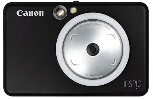 インスタントカメラ スマホプリンター iNSPiC マットブラック キヤノン ZV-123-MBK